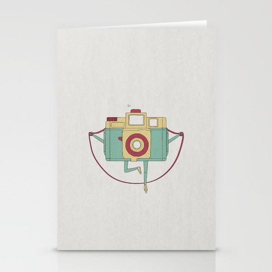 1, 2, 3, click! Stationery Cards