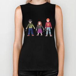 Harry, Hermione, and Ron Biker Tank