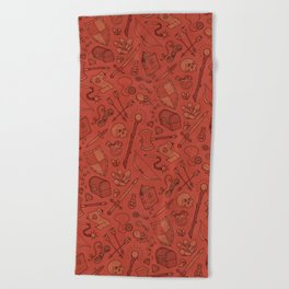 Inventory in Red Beach Towel