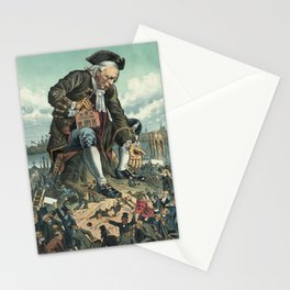 Gulliver and the Liliputians Stationery Cards