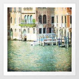 La Canal - Venice Art Print