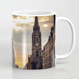 Royal Mile Sunrise in Edinburgh, Scotland Coffee Mug