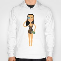 astrology Hoodies featuring Fashion Icon: Astrology by Mouki K. Butt