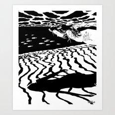 Borderline syndrome Art Print