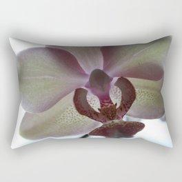 Macro Orchid 2 Rectangular Pillow