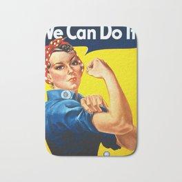 We Can Do It Bath Mat