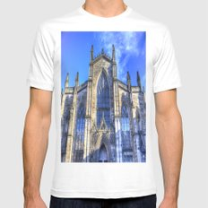 St Giles Cathedral Edinburgh MEDIUM Mens Fitted Tee White