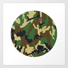 Military - Camouflage Art Print