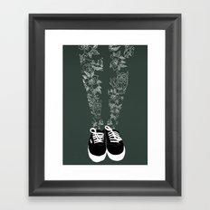 Inked. Framed Art Print