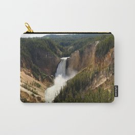 Majestic Upper Falls - Yellowstone Valley Carry-All Pouch