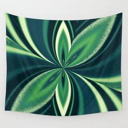 Aromantic Spectrum Pride Pinched Petal Ripples Wall Tapestry
