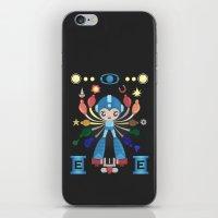 megaman iPhone & iPod Skins featuring MegaMan Shrine by MattBlanksArt