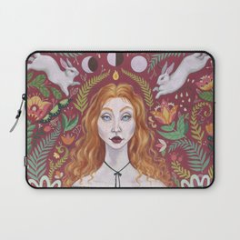 The Red Lady Laptop Sleeve