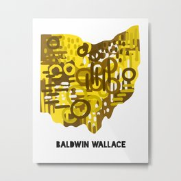 Baldwin Wallace Metal Print