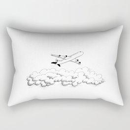 Airplane taking off Rectangular Pillow