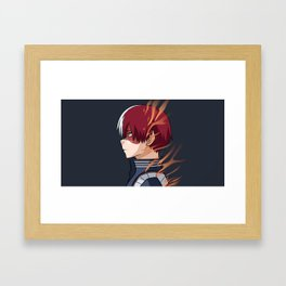 Todoroki Framed Art Print