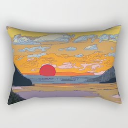 SUN SET Rectangular Pillow