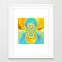 happiness Framed Art Prints featuring Happiness by lillianhibiscus