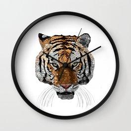 Rama the Tiger Wall Clock