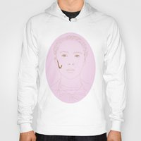 the grand budapest hotel Hoodies featuring The Grand Budapest Hotel by Itxaso Beistegui Illustrations