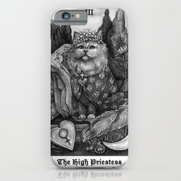 The Empress - Cat Tarot card iPhone Case