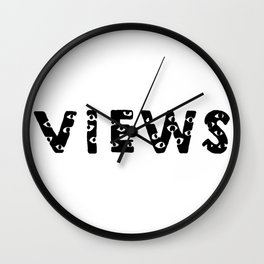 Views Wall Clock