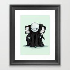 Plushie Death Eaters Framed Art Print