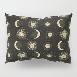 The Sun, The Moon, The Crescent of Moon Pillow Sham