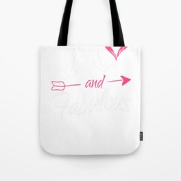 70th-Birthday-Gift---70-And-Fabulous Tote Bag