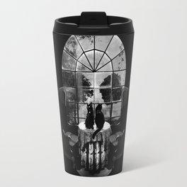 Room Skull B&W Travel Mug