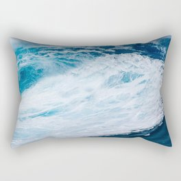 Wave Wave Rectangular Pillow