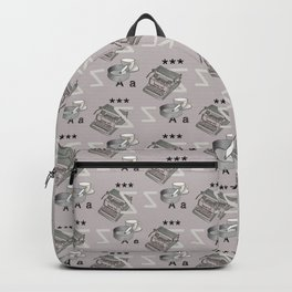 Poetry pattern Backpack