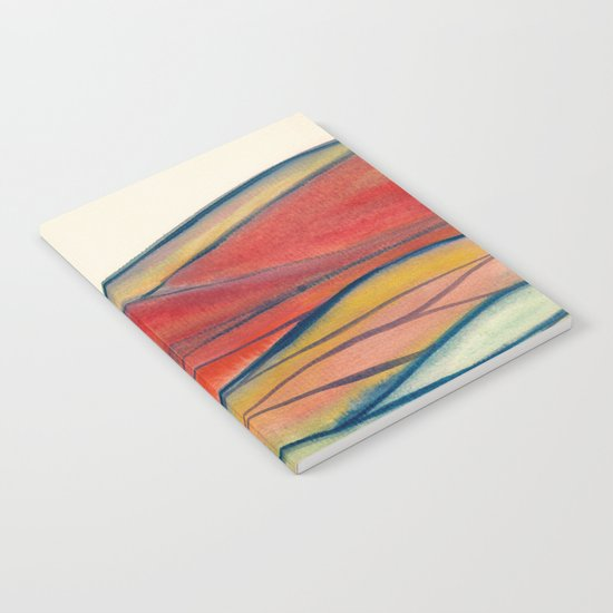 Watercolor abstract landscape 28 Notebook