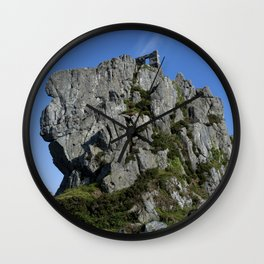 Roche Rock chapel 2 Wall Clock