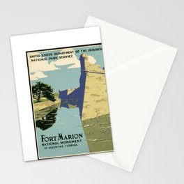 Fort Marion National Monument, St. Augustine, Florida Stationery Cards