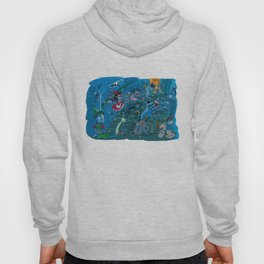 Witches in the basement Hoody