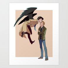 The Profound Bond Art Print