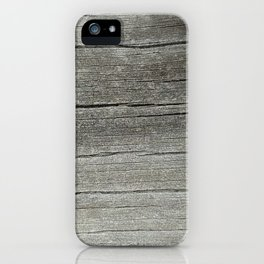 Ash Bark iPhone Case