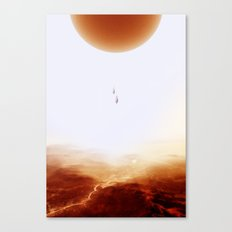 Mars Diving Canvas Print