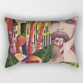 Toxic Tropic Rectangular Pillow