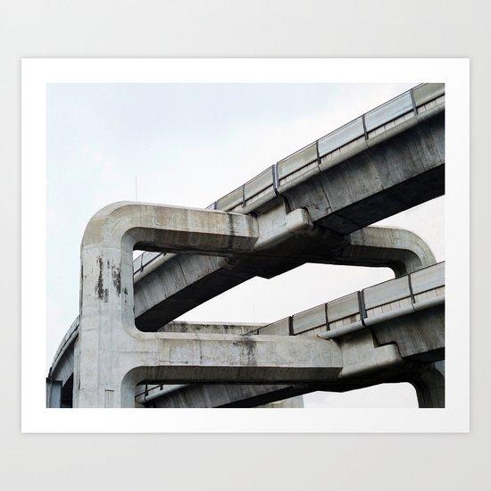 Concrete O1 Art Print