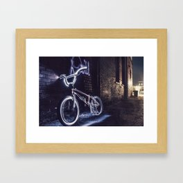 BMX Cult Framed Art Print