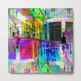 Wonder about equation resulting in parallelograms. [RGB] Metal Print