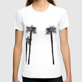 Minimal Black & White Palms #1 #tropical #decor #art #society6 T-shirt