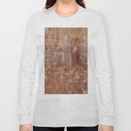 Brown Wall Long Sleeve T-shirt