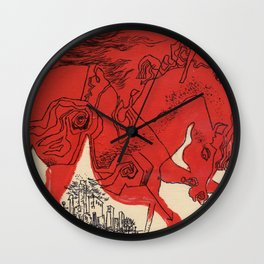 Catcher Wall Clock