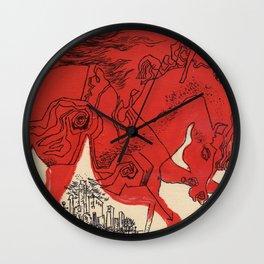 Catcher Wall Clock