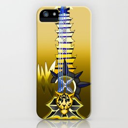 Fusion Keyblade Guitar #83 - Leopardus' Keyblade & Abaddon Plasma iPhone Case