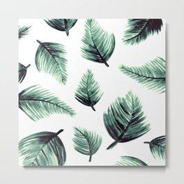 Danae-Leaves in the air Metal Print