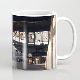 suburban railway station Coffee Mug